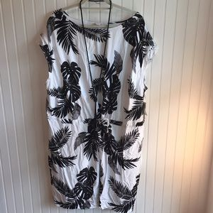 Old Navy Tropical Dress Size 3xl NWT
